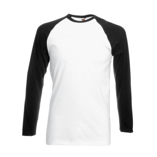 Men's Valueweight Long Sleeve Baseball T-Shirt