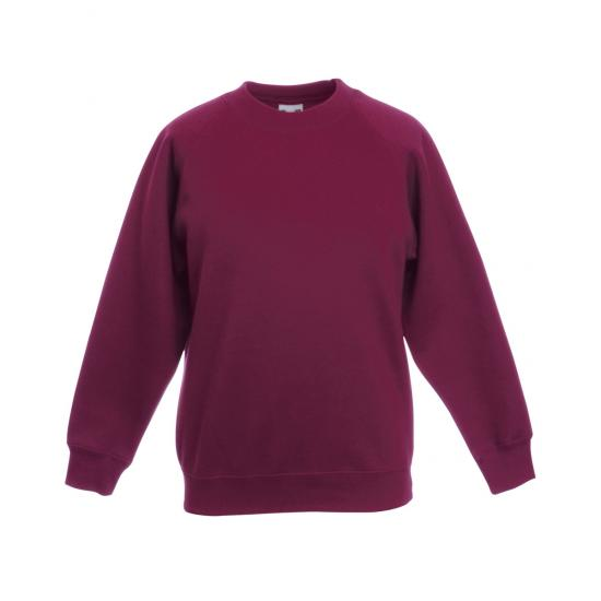 Children's Raglan Sleeve Sweatshirt (Age 3-13)