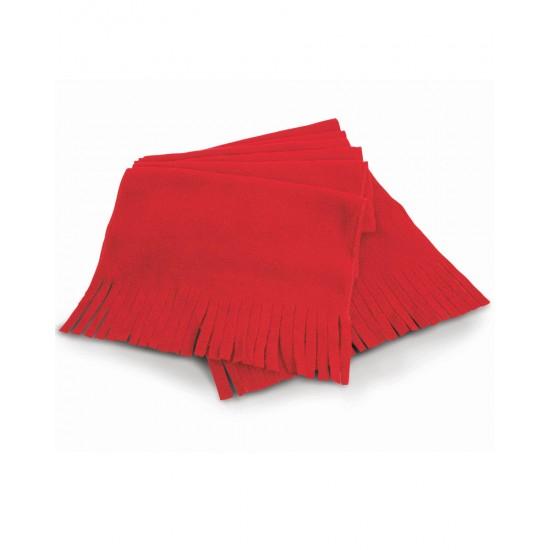 Active Fleece Tassel Scarf