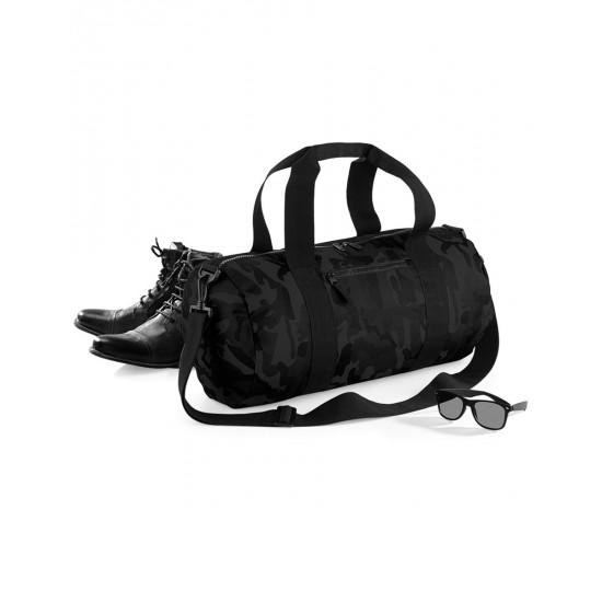 Bagbase Camo Barrel Bag